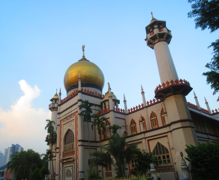Nearby Abdul Gafoor Mosque.