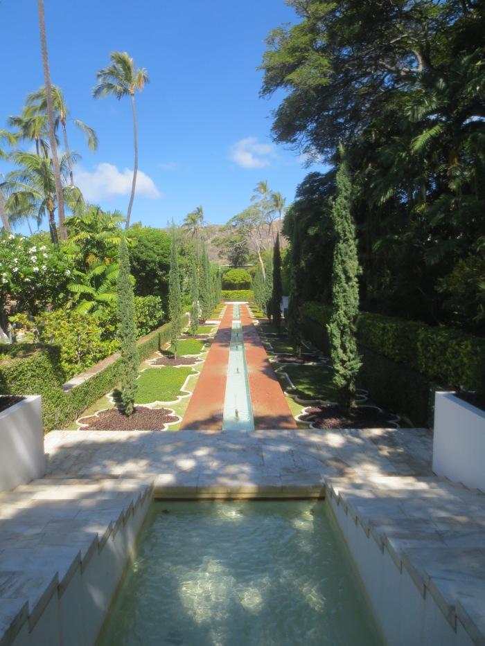 Mughal Garden at Shangri La.