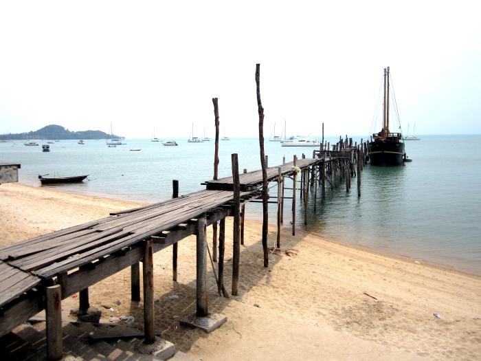 Old dock - Koh Samui, Thailand