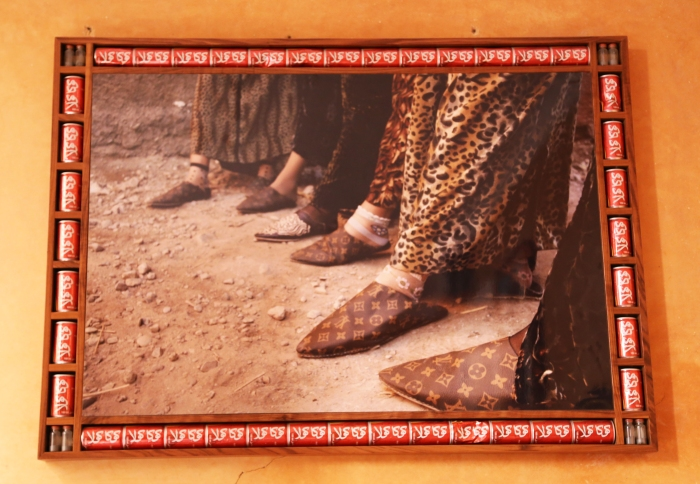 Artwork by Hassan Hajjaj.