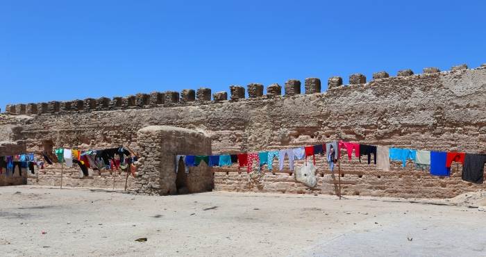 Walls of Essaouira.