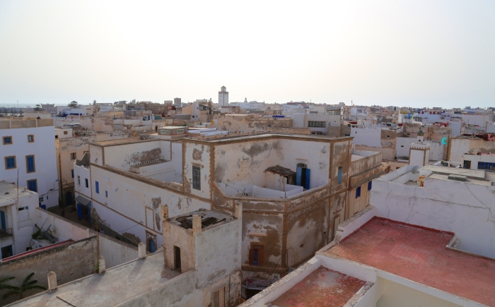 Overlooking Essaouira.