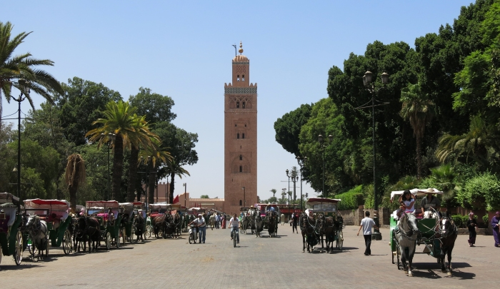 Mosque in Marrakesh.